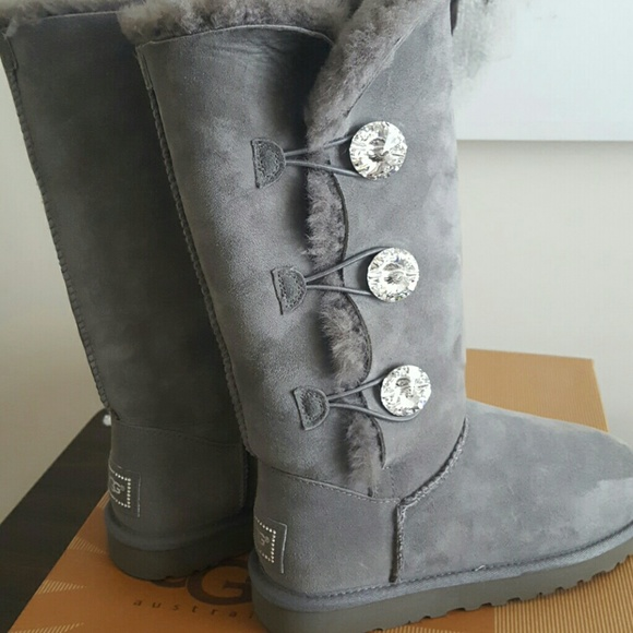 378474d1270 Ugg Bailey Button Bling Triplet boots